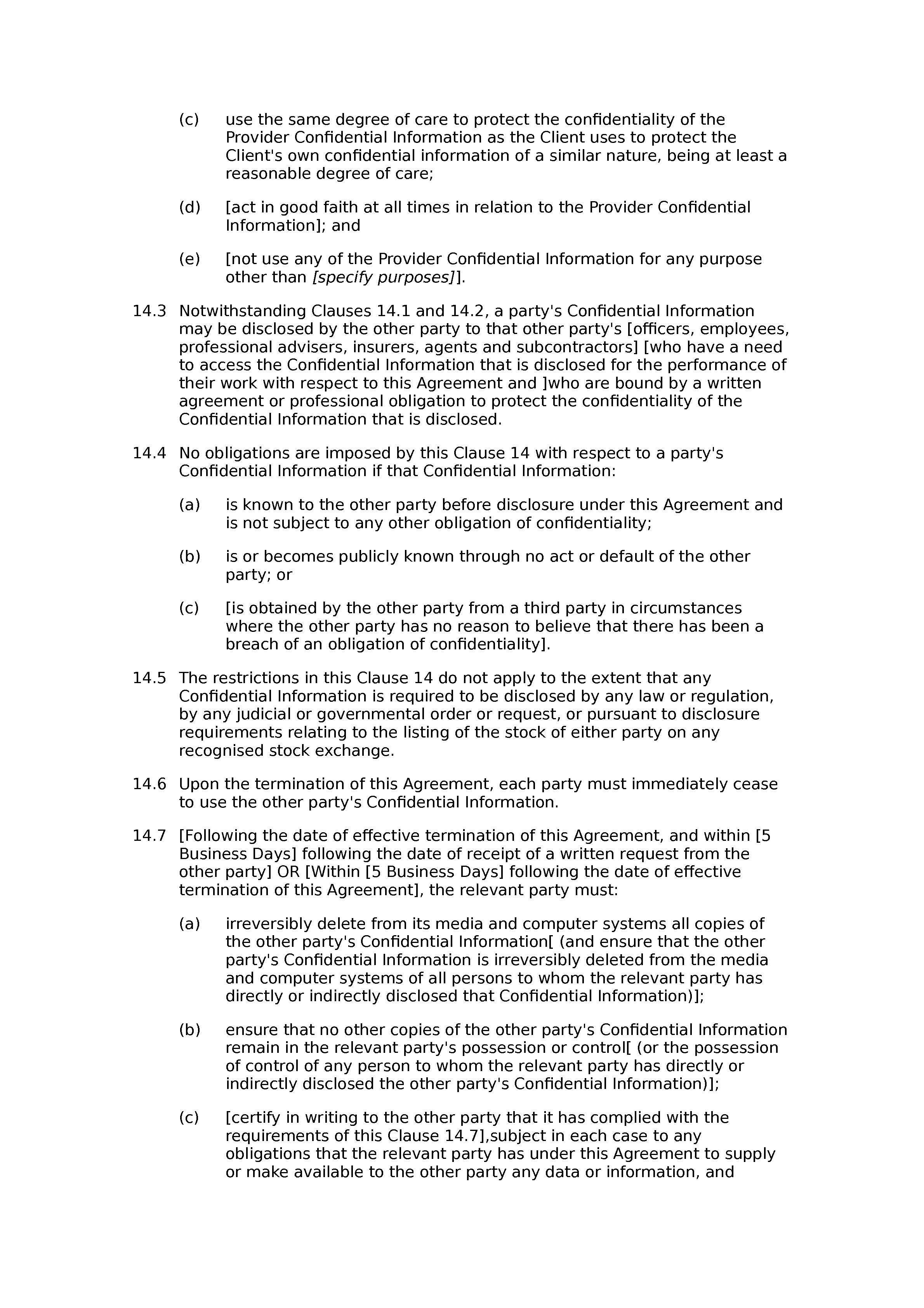 Doc400518 Non Disclosure Agreement Form Character Reference For 100 Client Confidentiality  Agreement Template Broker 5166 011