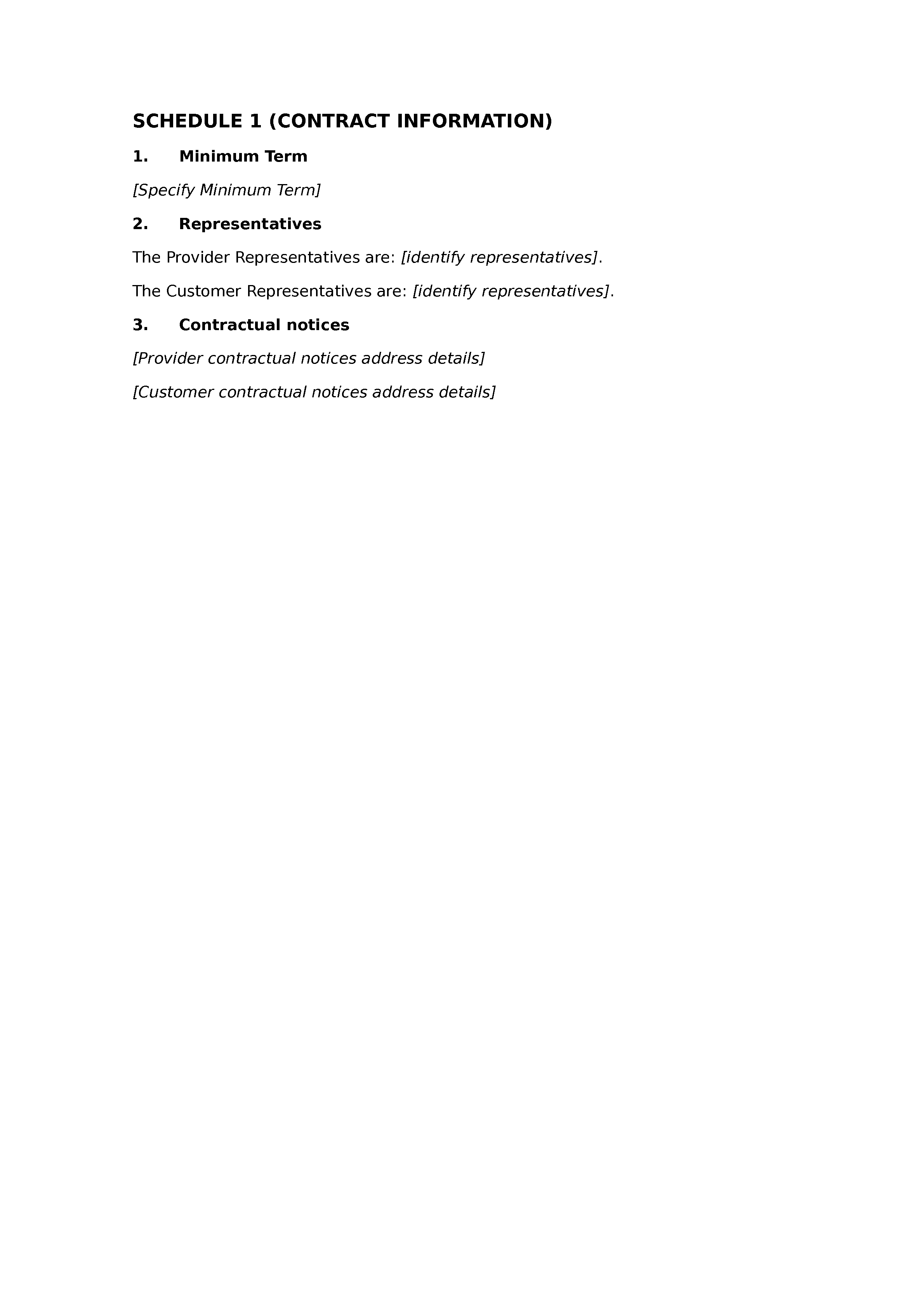 Web services agreement document preview