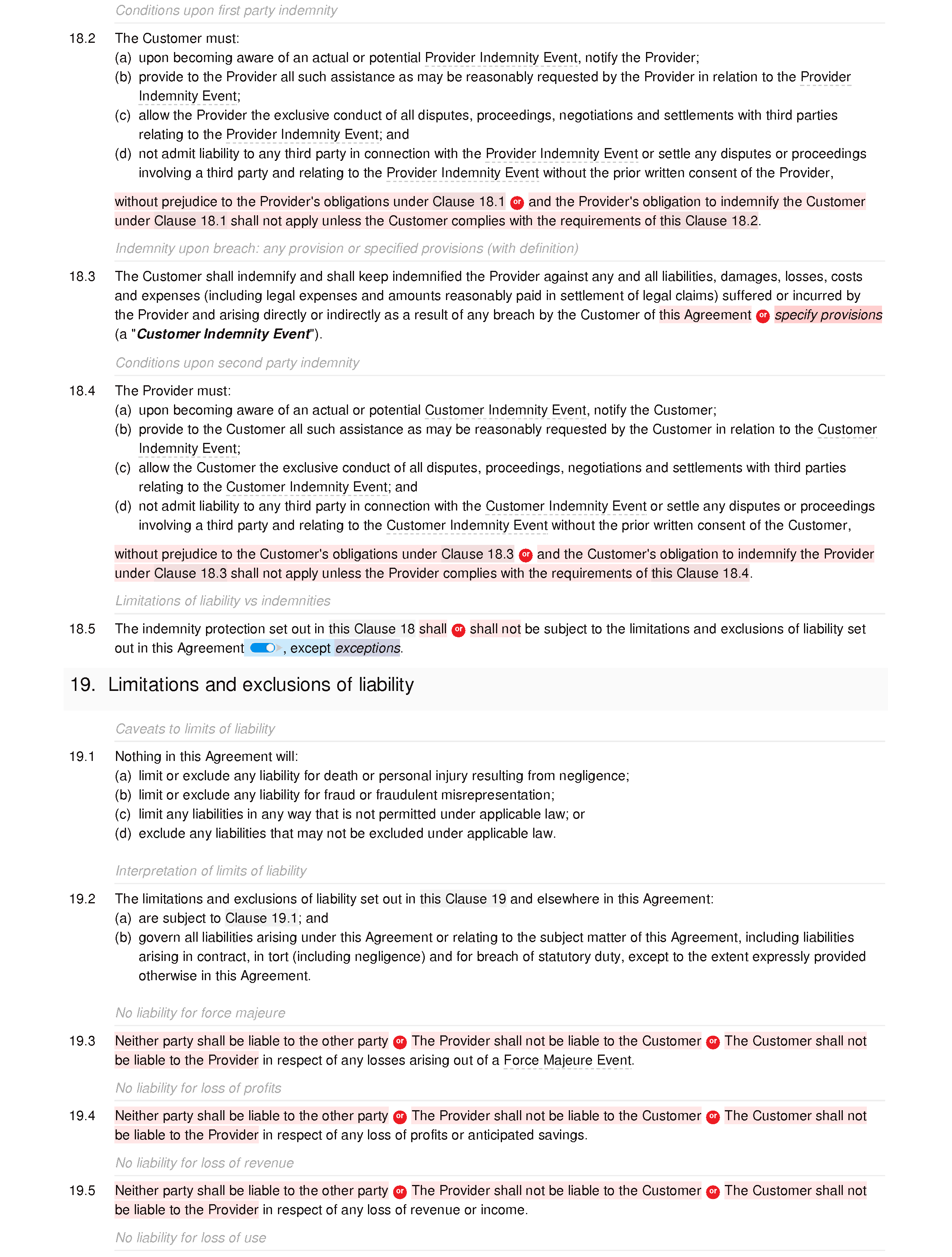 Software support agreement (premium) document editor preview